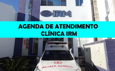 AGENDA SEMANAL DE ATENDIMENTO – MÊS DE ABRIL NA CLÍNICA IRM – MACAÚBAS