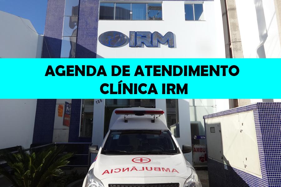 AGENDA SEMANAL DE ATENDIMENTO – MÊS DE MARÇO/ABRIL NA CLÍNICA IRM – MACAÚBAS