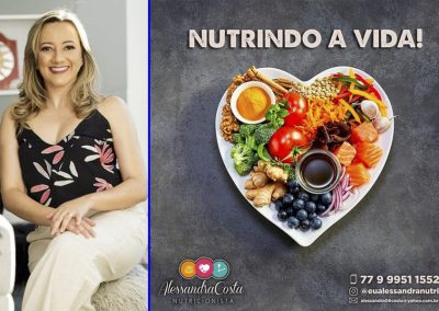 DICAS DA NUTRICIONISTA ALESSANDRA COSTA