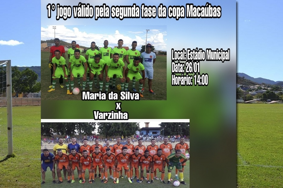 ESPORTE CLUBE MARIA DA SILVA REALIZARÁ O 1°JOGO DA SEGUNDA FASE DA COPA MACAÚBAS