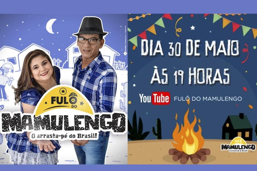 ANOTA AÍ! DIA 30 DE MAIO (SÁBADO) TEM A LIVE DA BANDA FULÔ DO MAMULENGO