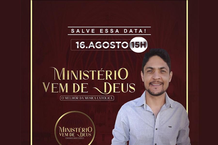 ANOTE ESSA DATA, 16/08 TEM A LIVE CATÓLICA DO MINISTÉRIO VEM DE DEUS