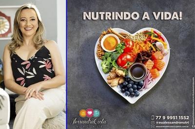 NUTRICIONISTA ALESSANDRA COSTA