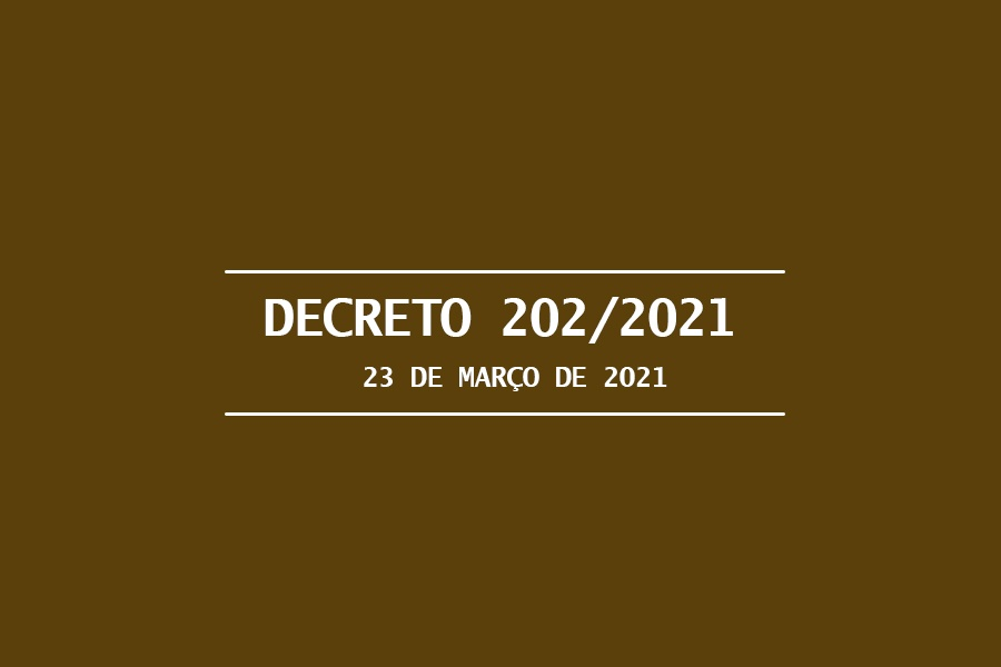 COVID-19: VEJA O DECRETO MUNICIPAL PUBLICADO NESTA TERÇA, 23/03 QUE ESTABELECE MEDIDAS RESTRITIVAS AO COMBATE À PANDEMIA