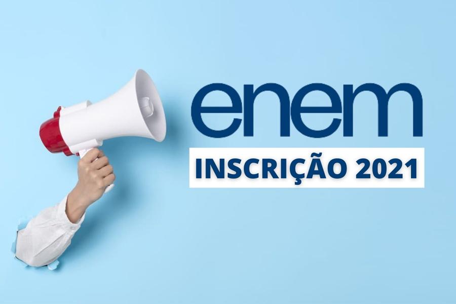TERMINA NESTA QUARTA, 14/07 AS INSCRIÇÕES PARA O ENEM 2021