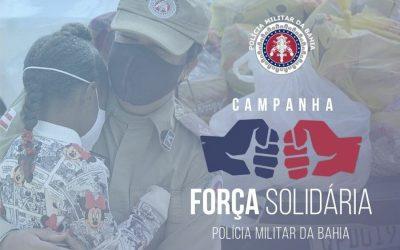 PMBA/ CPRO/ 4ªCIPM LANÇA CAMPANHA: FORÇA SOLIDÁRIA QUE VISA A ARRECADAÇÃO DE ALIMENTOS NÃO PERECÍVEIS