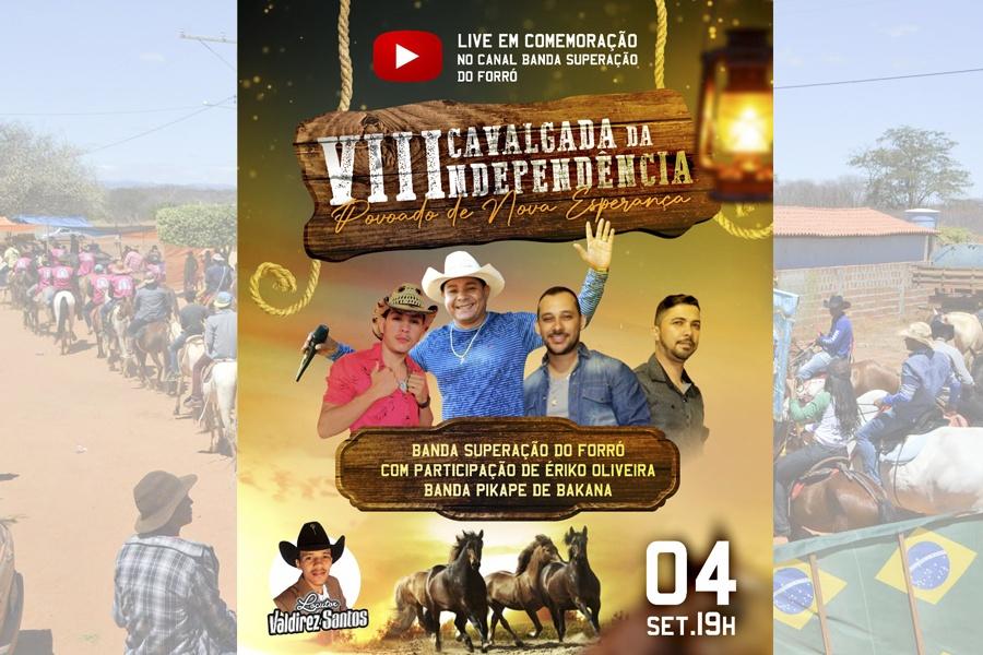 LIVE EM COMEMORAÇÃO A 8ª CAVALGADA DA INDEPENDÊNCIA – NOVA ESPERANÇA