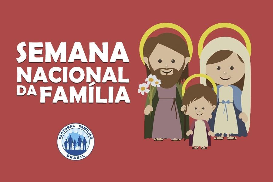 EVENTO RELIGIOSO: PROGRAMAÇÃO DA SEMANA NACIONAL DA FAMÍLIA – 2021